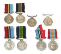 A Collection of Eight Rhodesian General Service & Police Medals:- to 14551 Const Kadhela;