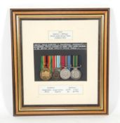 A British South African Police Group of Five Medals,