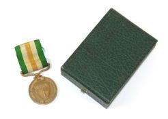A Scarce Rhodesia Independence Commemorative Decoration, to W J J Cary, in case of issue.