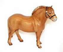 Beswick Norwegian Fjord Horse, model No. 2282, Dun gloss