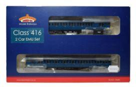Bachmann OO Gauge 31375 Class 416 2EPB EMU 5764 blue 21DCC (E box G-E)