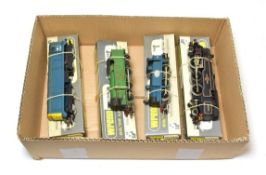 Wrenn Locomotives W2230 BO-BO diesel BR 20008, W2217 0-6-2T LNER 9522, W2201 0-6-0T ESSO 38 and