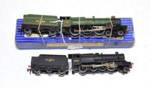 Hornby Dublo 3-Rail Locomotives EDLT20 Bristol Castle (E box G) and Class 8F BR 48158 (G) (2)