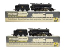 Wrenn Two Class 8F Locomotives W2224A BR 48290 (E-G box G, stamped Ref. No. 06427) and W2225 48265
