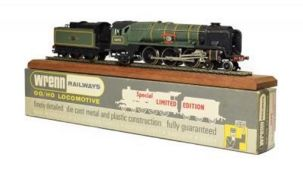Wrenn W2402 Sir Eustace Missenden BR 34090 with certificate 163/250, leaflet, display rail and