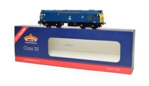 Bachmann 32404DS Class 25/3 Diesel Locomotive 25276 blue DCC Sound (E box E-G)