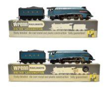 Wrenn Two A4 Locomotives W2210 Mallard LNER 4468 and W2212 Sir Nigel Gresley LNER 7 (both E-G