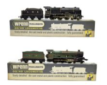 Wrenn Two Locomotives W2261 Black Watch LMS 6102 and W2222 Devizes Castle GWR 7002 (both G-F boxes