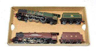 Hornby Dublo 3-Rail Locomotives Duchess of Montrose BR 46232 and Duchess of Atholl LMS 6231 (both