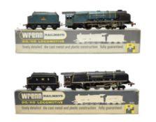 Wrenn Two Locomotives W2229 City of Glasgow BR 46242 (G-F box G-F) W2227 City of Stoke-on-Trent (E-G