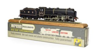 Wrenn W2403 The Rifle Brigade LMS 6146 with certificate 083/250, leaflet, display rail, plinth and