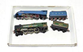 Hornby Dublo 3-Rail Locomotives Dorchester BR 34042 and Sir Nigel Gresley (both G-E) (2)