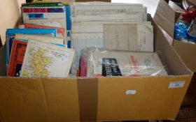 Large collection of Ordnance Survey road maps and others