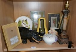 Radfords pottery pot-pourri vase and other chinaware