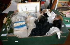 Box of lace and lacework