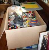 Large collection of vintage Lego and Lego figures
