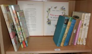 Four Rupert Annuals, five A.A. Milne books and four other books