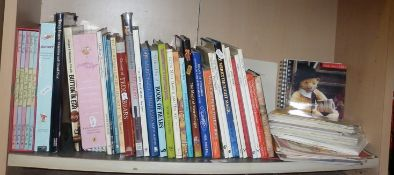 Shelf of books on Teddy Bears etc