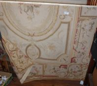 """An Aubusson rug in good condition, 51"""" x 77"""""""
