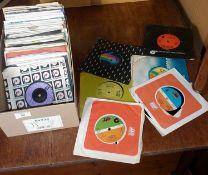 Approx 65 vinyl singles, 1970's disco/soul, average condition