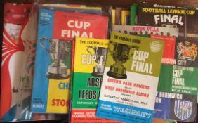 League Cup Football Programmes.