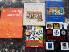Football - five excellent reference books comprising Football Memorabilia,