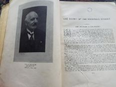 The Story of the Football League, 1888-1938 compiled by E Sutcliffe,