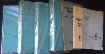 Football Books. Caxton Association football volumes 1,2,3 and 4 plus 59/60 60/1 supplements.