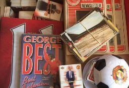 Manchester United Football Memorabilia.