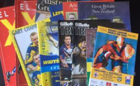 Rugby League Programmes. An interesting selection of modern day programmes.