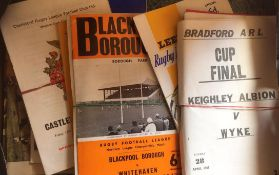 Rugby League Programmes.