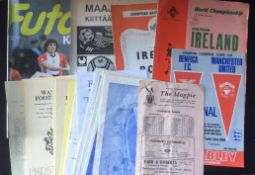 Football Programmes - a varied selection mainly from the 1960s with some non-league to include