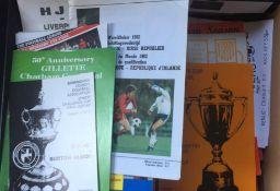 Football Programmes. Good selection of programmes.