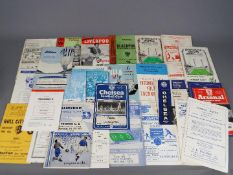 """Football Programmes. An excellent selection of """"out of the ordinary"""" 1960s football programmes."""
