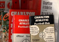 Charlton Athletic Football Programmes and Handbooks.