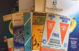 European Football Programmes.