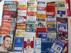Scottish Football - approximately 46 match programmes comprising a varies selection of clubs,