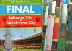 FA Cup Final Football Programmes.