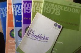Tennis Programmes.