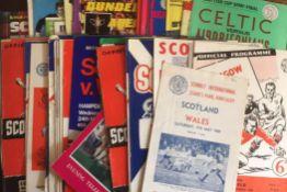 Scottish Football Programmes.