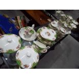 A large collection of Paragon China dinner and tea ware in the 'Rockingham' pattern,