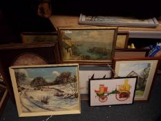 Pictures - a quantity of pictures,