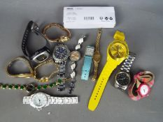 A collection of various wristwatches to include Rotax, Citizen, Sekonda, Lorus and similar.