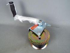 A strap winch