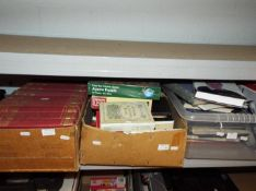Job Lot - three boxes containing a quantity of books and jigsaws