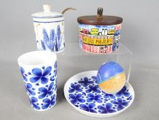 Scandinavian Ceramics - Lot to include a Marianne Westman for Rorstrand beaker and dish in the Mon