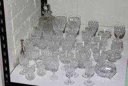 Thomas Webb and other crystal glass.