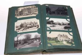 Album of postcards with North East interest and other subjects including Brittain & Wright, Norton,
