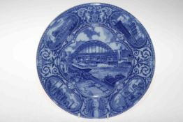 Maling North East Coast Exhibition 1929 plate.