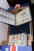Collection of cigarette cards part and full sets including Ogdens, Stephen Mitchell & Son,